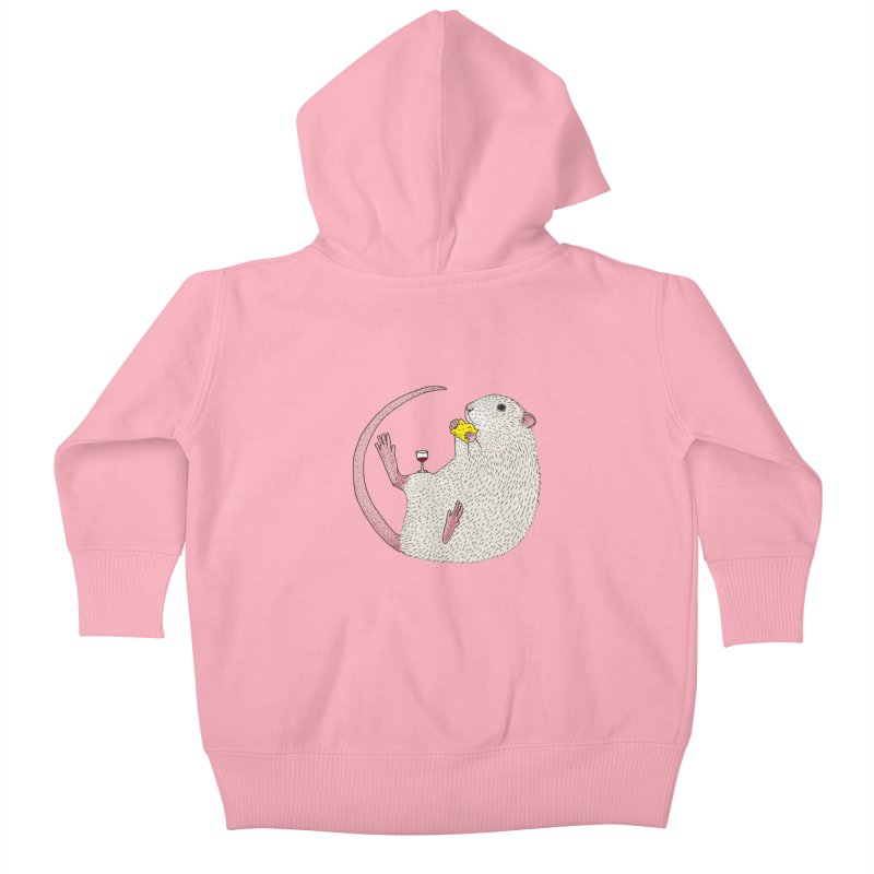 Nibbles Kids Baby Zip-Up Hoody by Martina Scott's Shop