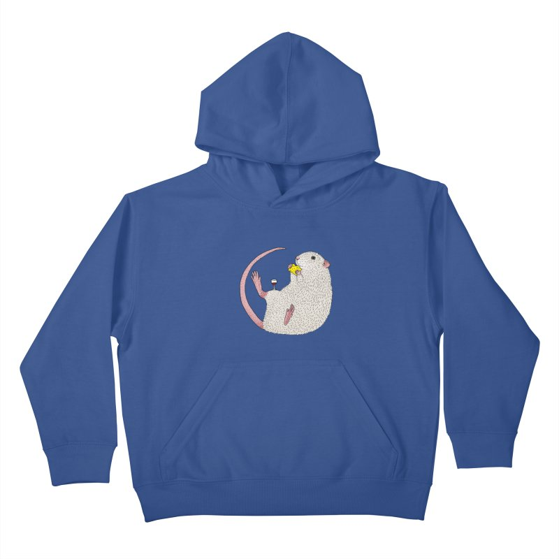 Nibbles Kids Pullover Hoody by Martina Scott's Shop