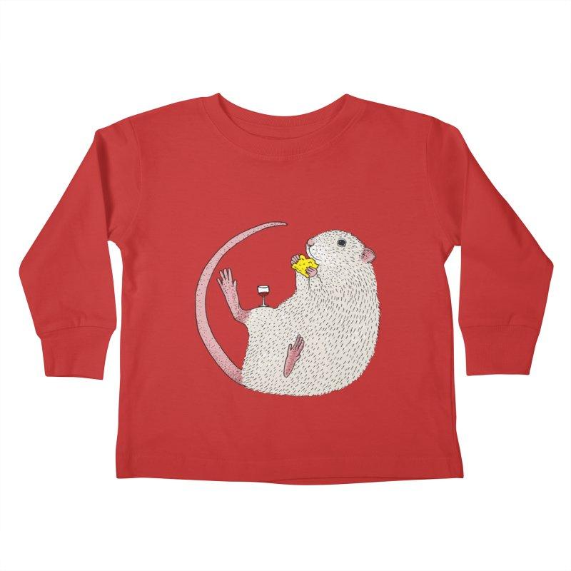 Nibbles Kids Toddler Longsleeve T-Shirt by Martina Scott's Shop