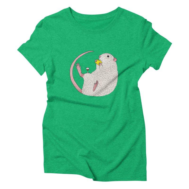 Nibbles Women's Triblend T-Shirt by Martina Scott's Shop