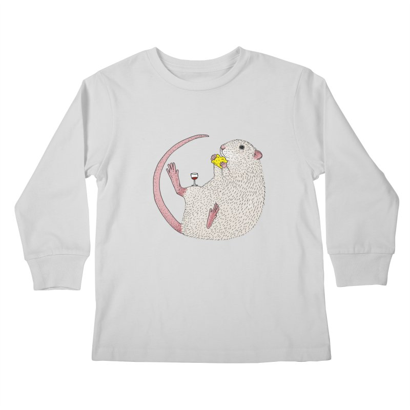 Nibbles Kids Longsleeve T-Shirt by Martina Scott's Shop