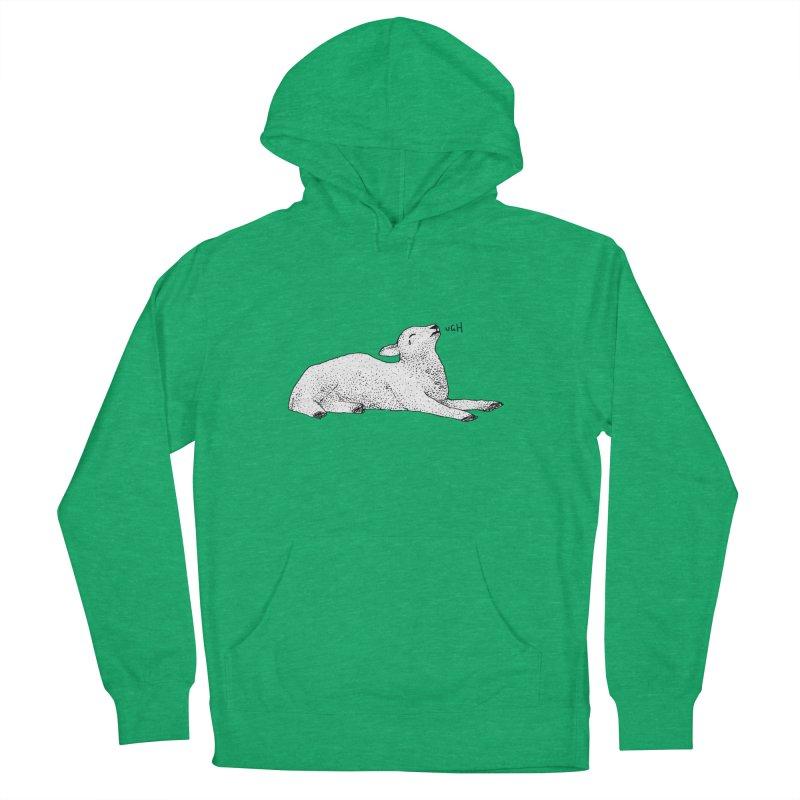 Exasperated Lamb Men's Pullover Hoody by Martina Scott's Shop
