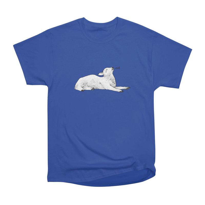 Exasperated Lamb Men's Classic T-Shirt by Martina Scott's Shop