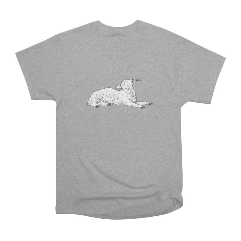 Exasperated Lamb Women's Heavyweight Unisex T-Shirt by Martina Scott's Shop