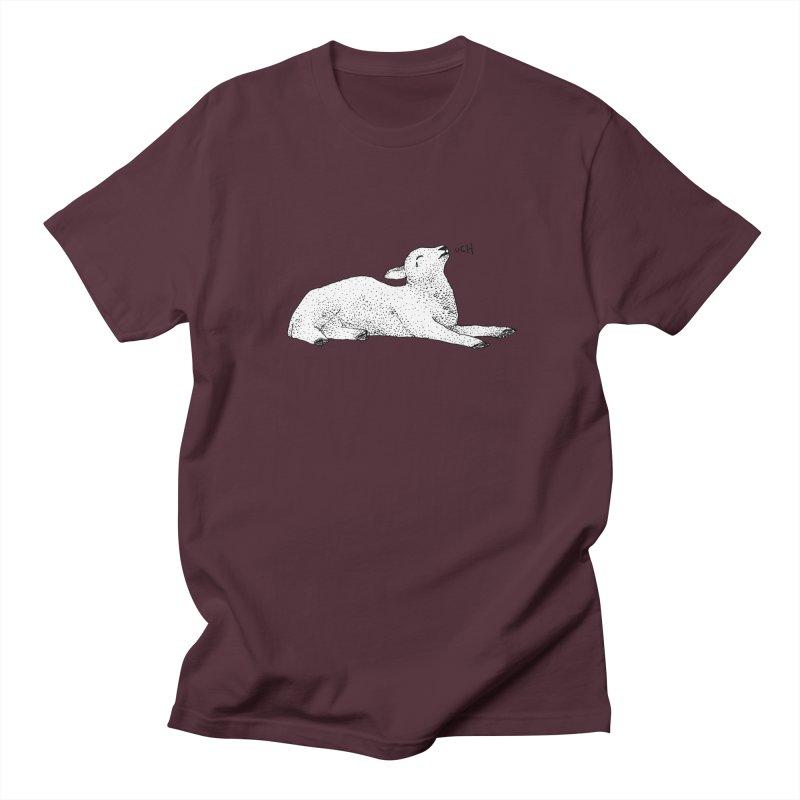 Exasperated Lamb Women's Unisex T-Shirt by Martina Scott's Shop