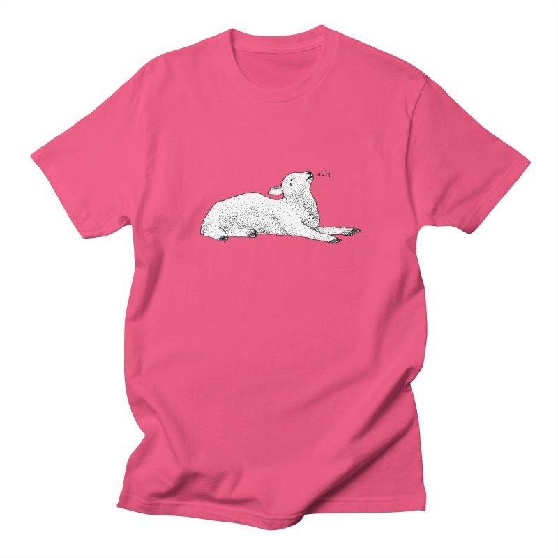 Exasperated Lamb Men's T-Shirt by Martina Scott's Shop