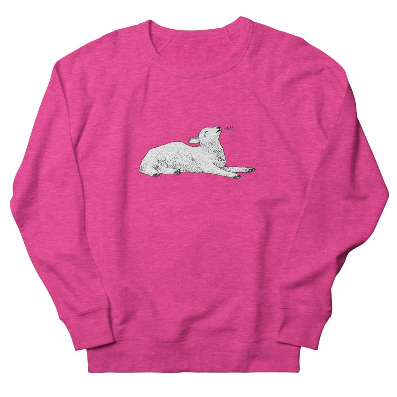 Exasperated Lamb Men's Sweatshirt by Martina Scott's Shop