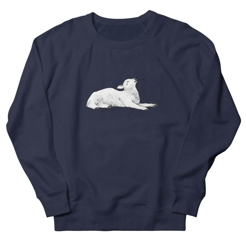 Exasperated Lamb Men's Sweatshirt by Martina Scott's Shop