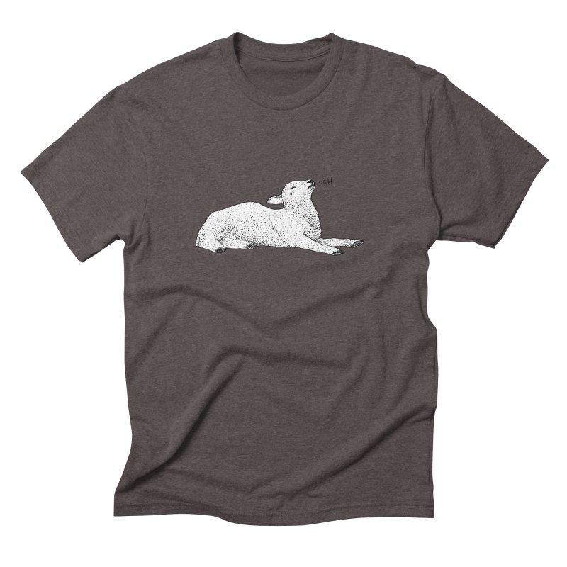 Exasperated Lamb Men's Triblend T-Shirt by Martina Scott's Shop