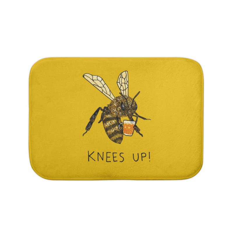 (Bees) Knees up Home Bath Mat by Martina Scott's Shop