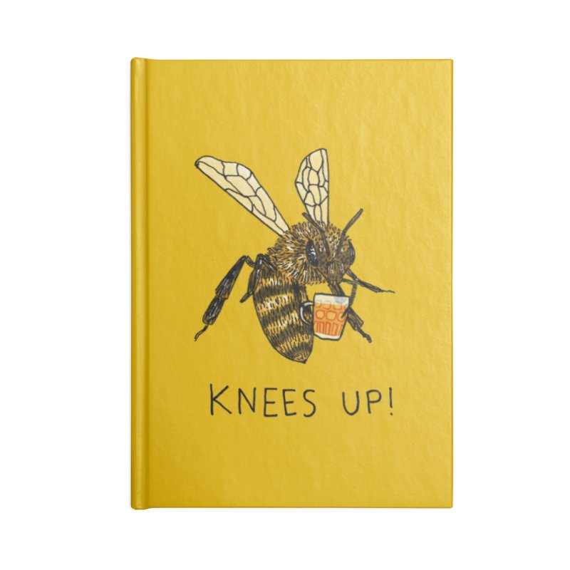 (Bees) Knees up Accessories Notebook by Martina Scott's Shop
