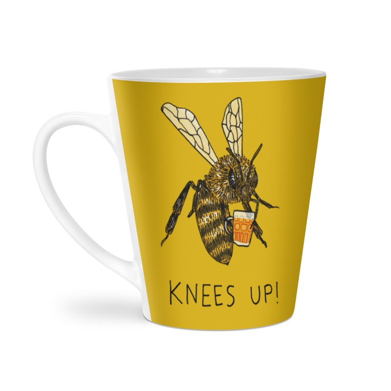 (Bees) Knees up Accessories Latte Mug by Martina Scott's Shop