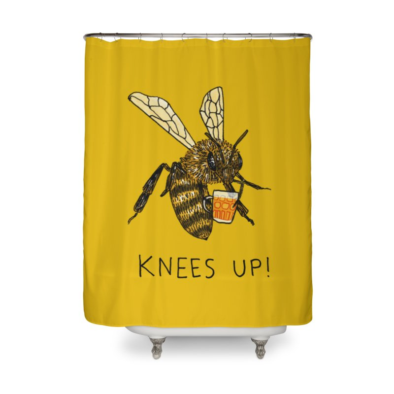 (Bees) Knees up Home Shower Curtain by Martina Scott's Shop
