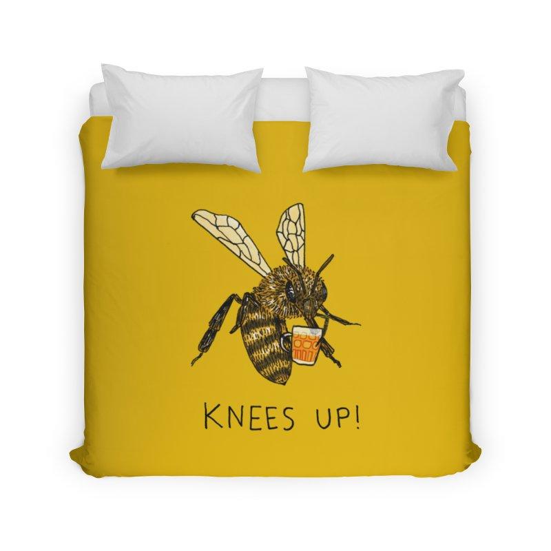 (Bees) Knees up Home Duvet by Martina Scott's Shop