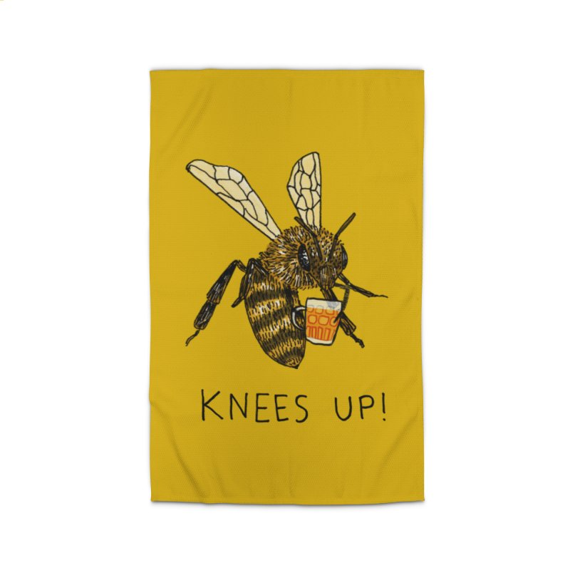 (Bees) Knees up Home Rug by Martina Scott's Shop