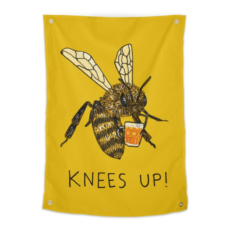 (Bees) Knees up Home Tapestry by Martina Scott's Shop