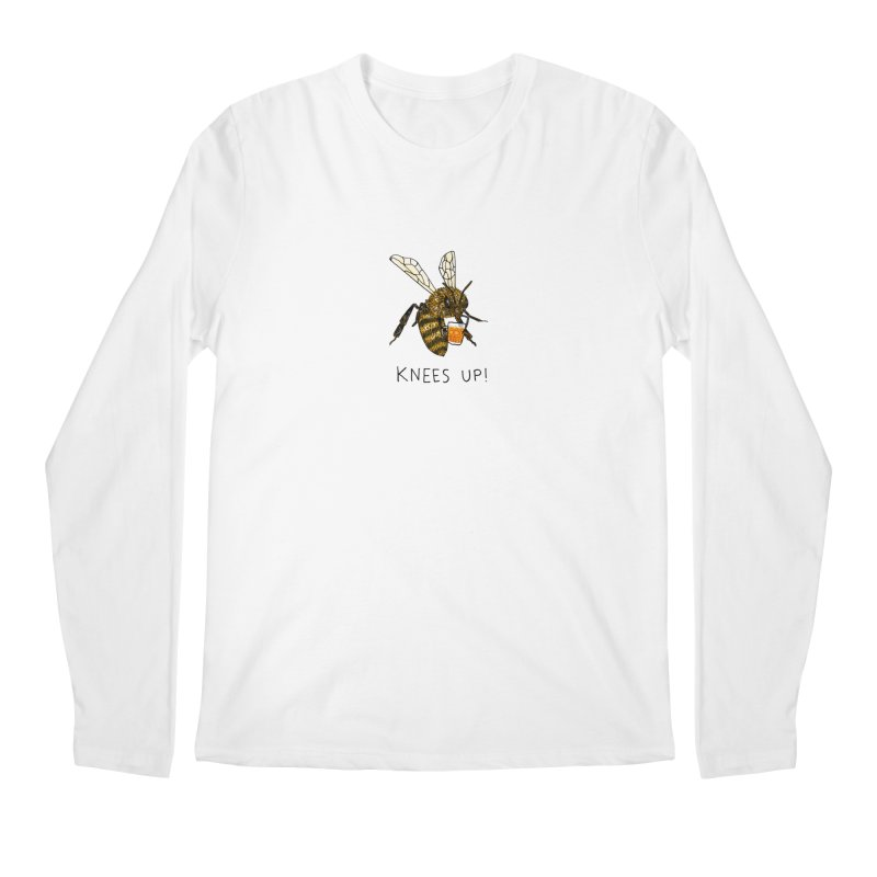 (Bees) Knees up Men's Regular Longsleeve T-Shirt by Martina Scott's Shop