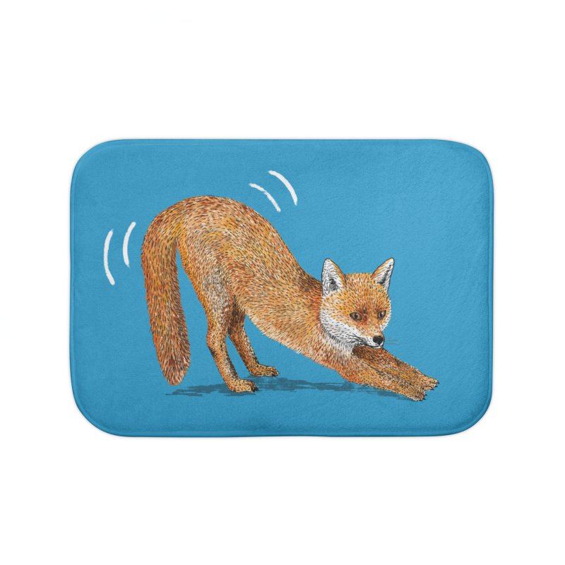 Foxy Fox Home Bath Mat by Martina Scott's Shop