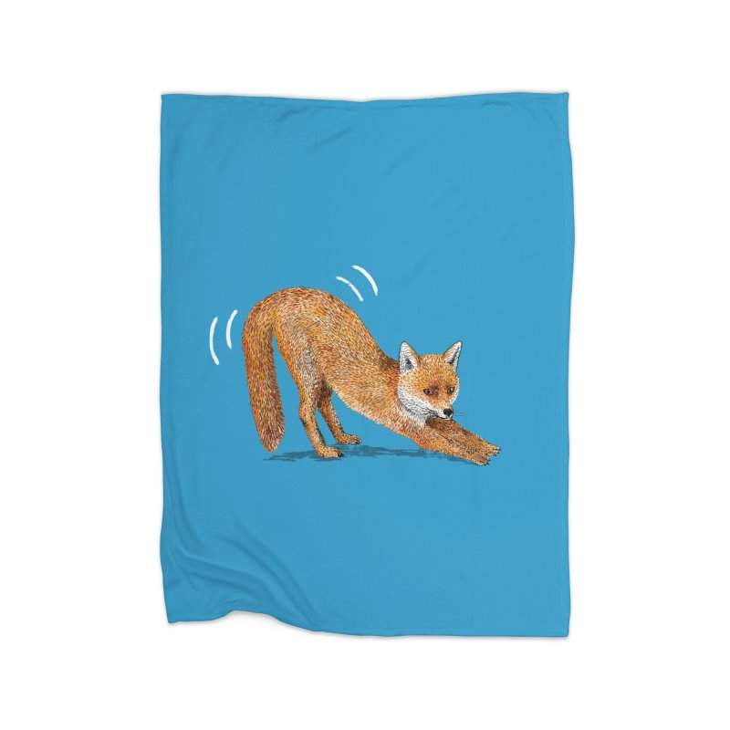 Foxy Fox Home Blanket by Martina Scott's Shop
