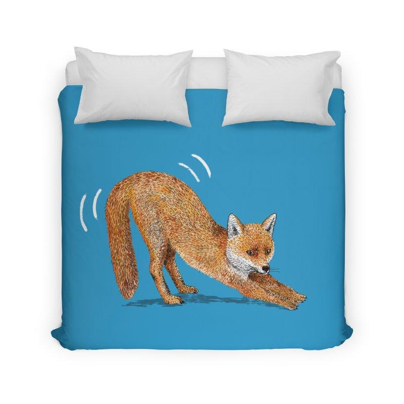 Foxy Fox Home Duvet by Martina Scott's Shop