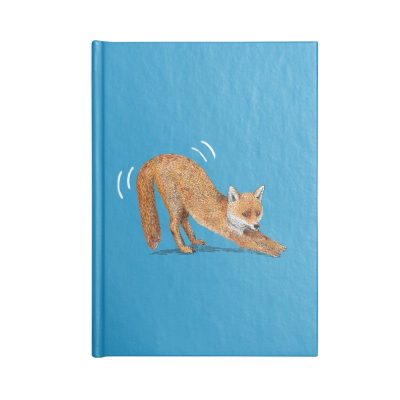 Foxy Fox Accessories Notebook by Martina Scott's Shop
