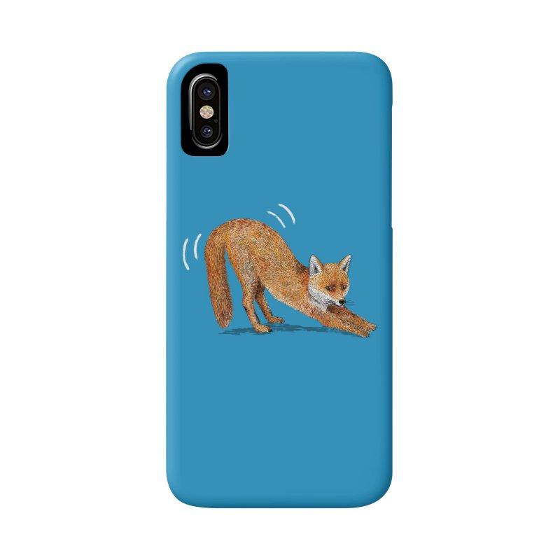 Foxy Fox Accessories Phone Case by Martina Scott's Shop