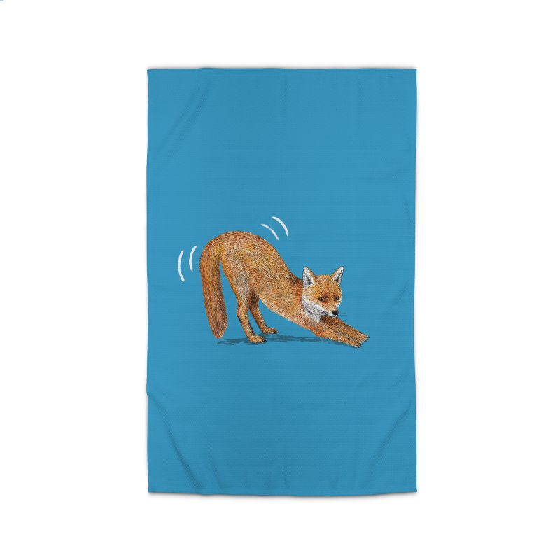 Foxy Fox Home Rug by Martina Scott's Shop