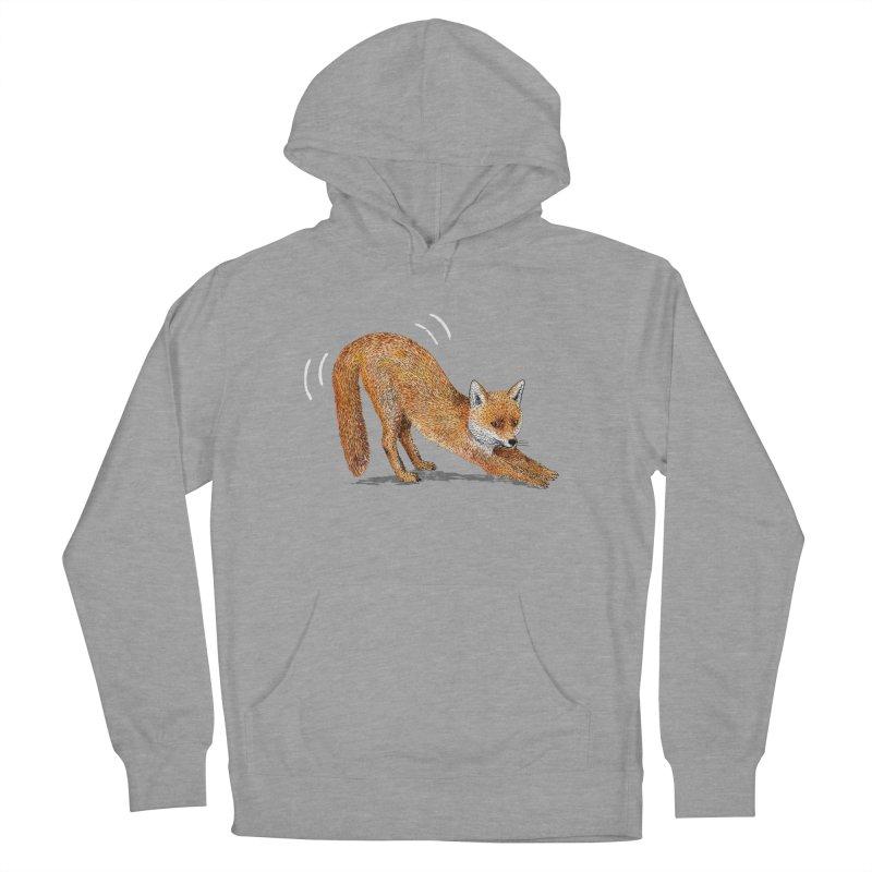 Foxy Fox Men's Pullover Hoody by Martina Scott's Shop