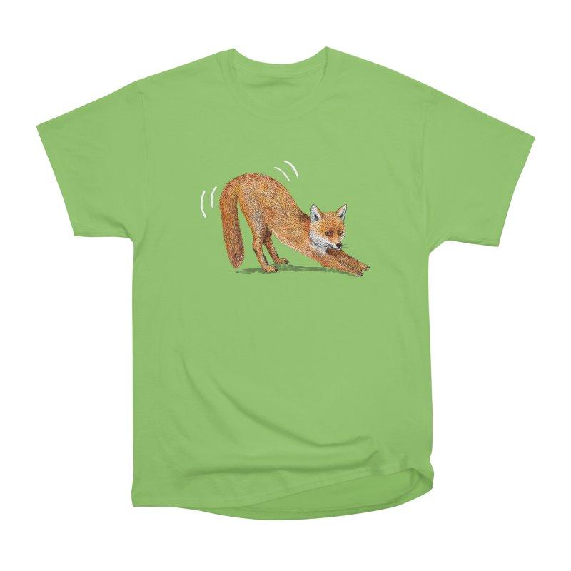 Foxy Fox Men's Heavyweight T-Shirt by Martina Scott's Shop