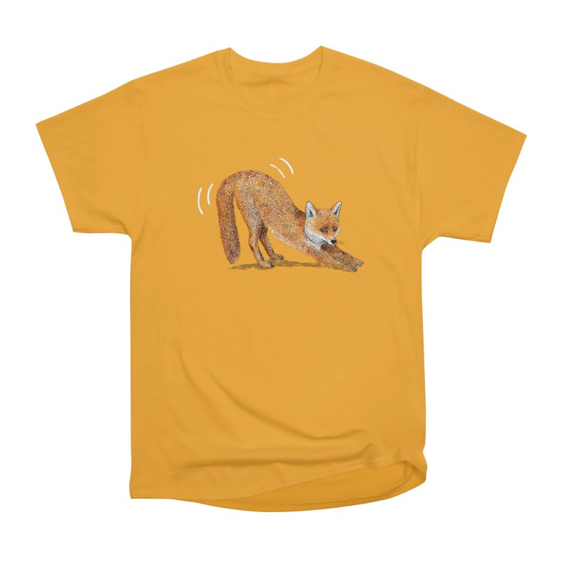 Foxy Fox Women's Heavyweight Unisex T-Shirt by Martina Scott's Shop