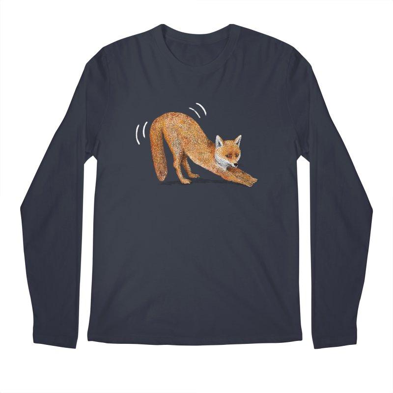 Foxy Fox Men's Longsleeve T-Shirt by Martina Scott's Shop