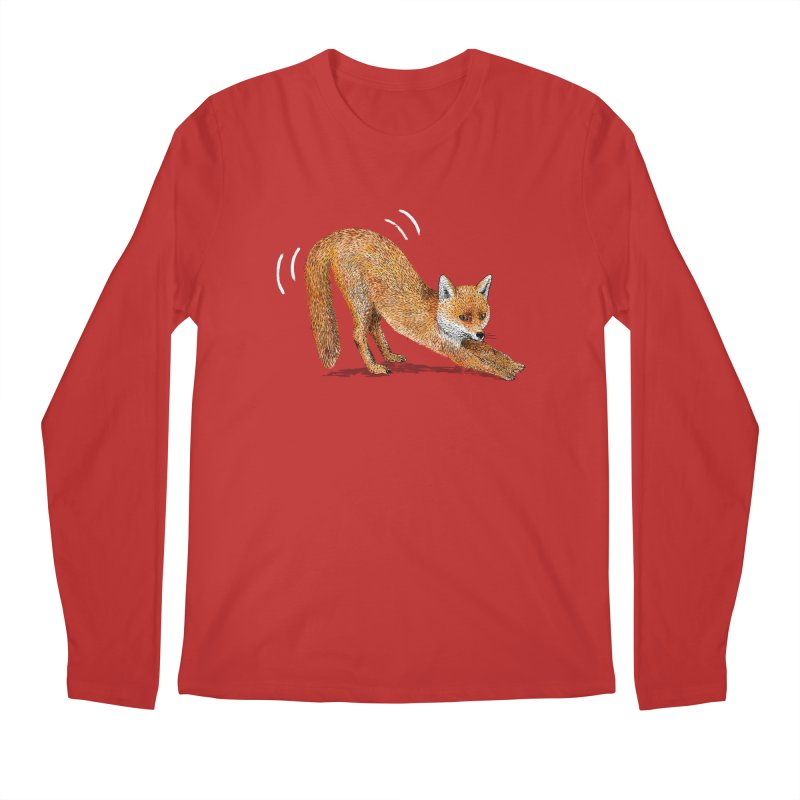 Foxy Fox Men's Regular Longsleeve T-Shirt by Martina Scott's Shop