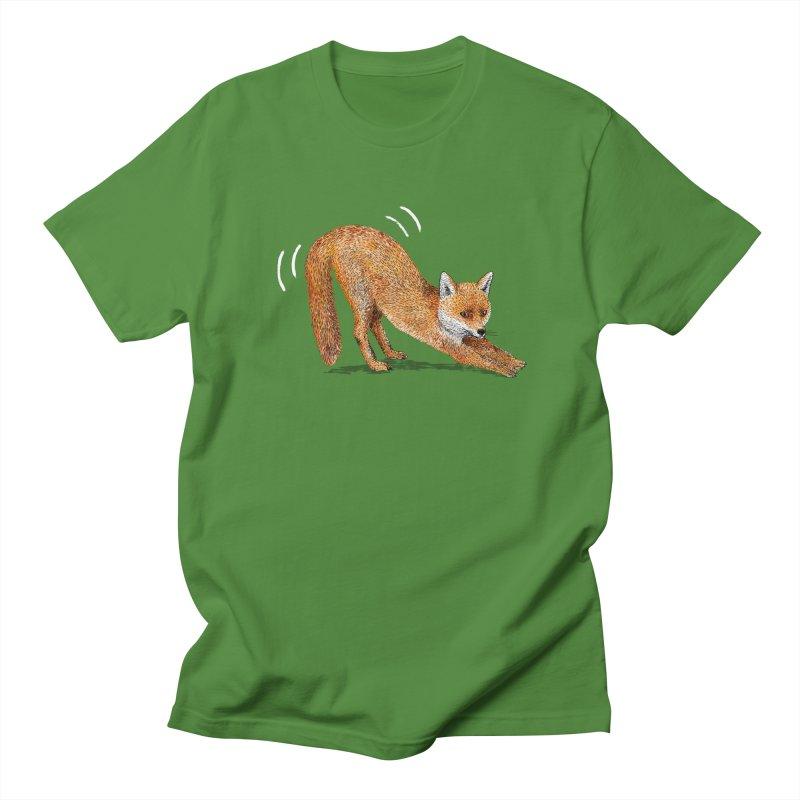 Foxy Fox Men's T-Shirt by Martina Scott's Shop