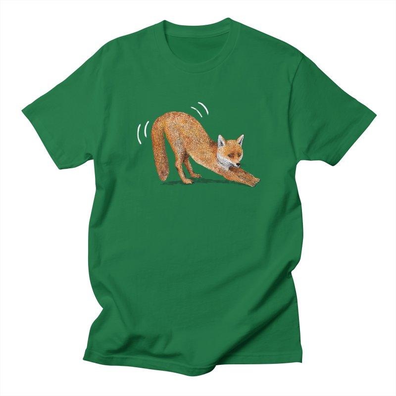 Foxy Fox Men's Regular T-Shirt by Martina Scott's Shop