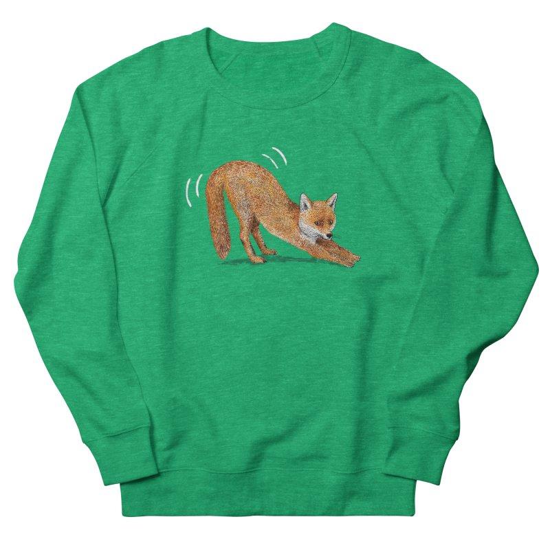 Foxy Fox Men's French Terry Sweatshirt by Martina Scott's Shop