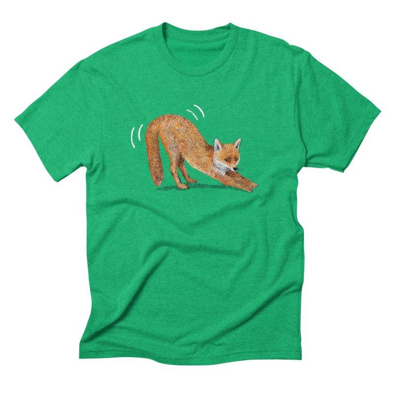 Foxy Fox Men's Triblend T-Shirt by Martina Scott's Shop