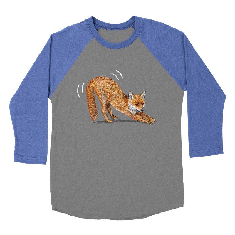 Foxy Fox Women's Baseball Triblend Longsleeve T-Shirt by Martina Scott's Shop