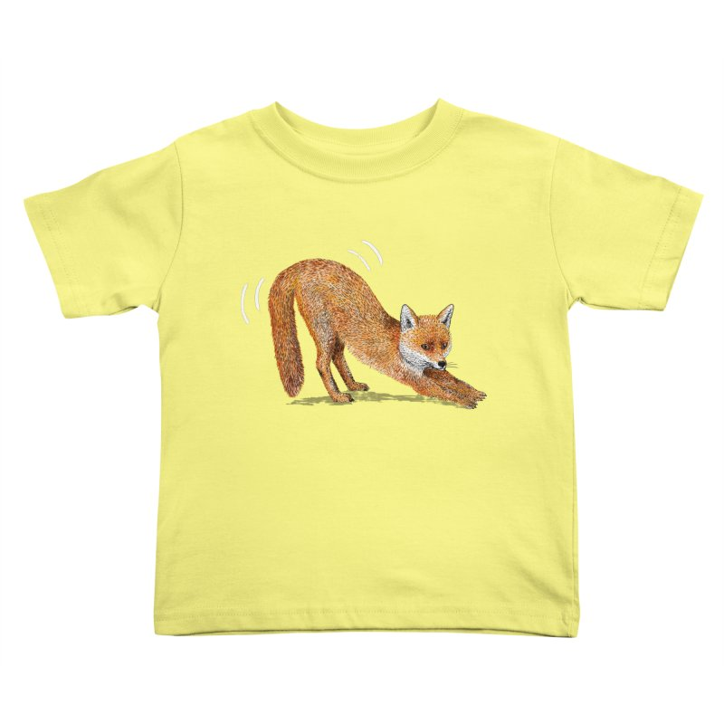 Foxy Fox Kids Toddler T-Shirt by Martina Scott's Shop