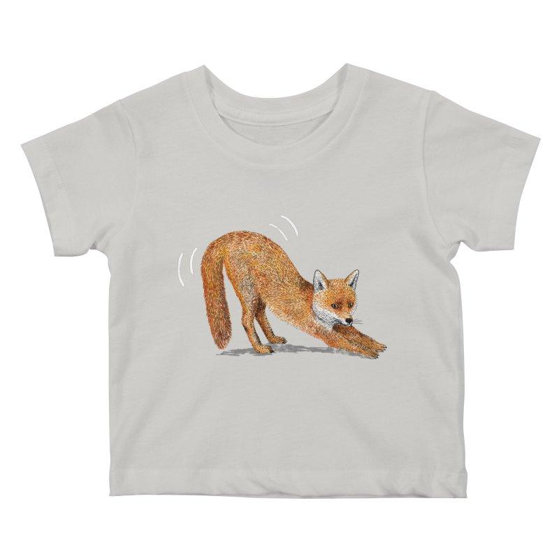 Foxy Fox Kids Baby T-Shirt by Martina Scott's Shop
