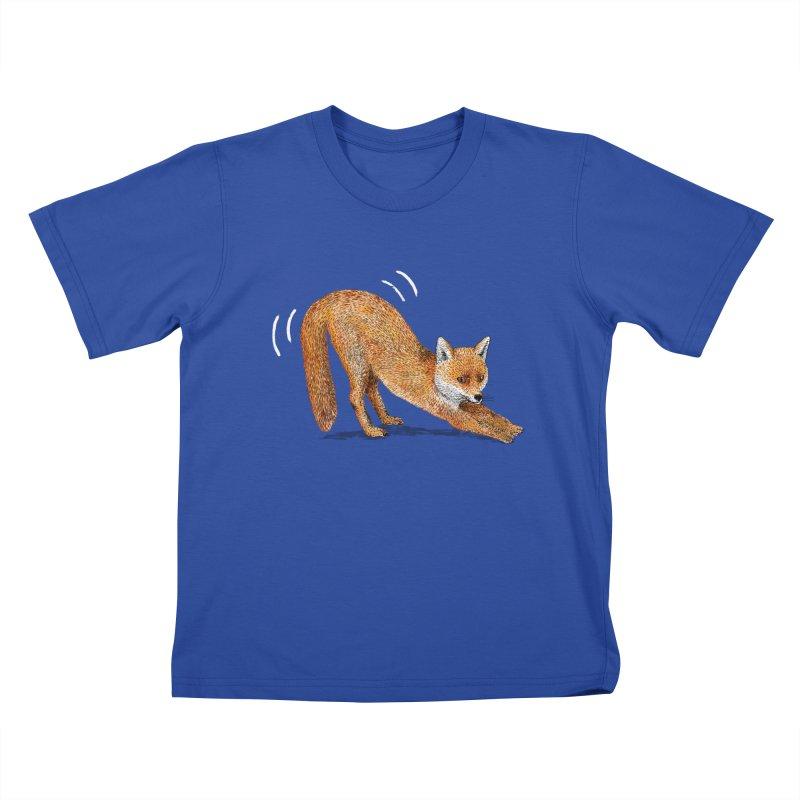 Foxy Fox Kids T-Shirt by Martina Scott's Shop