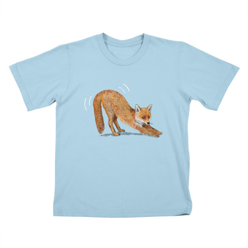 Foxy Fox Kids T-Shirt by Martina Scott's Shop