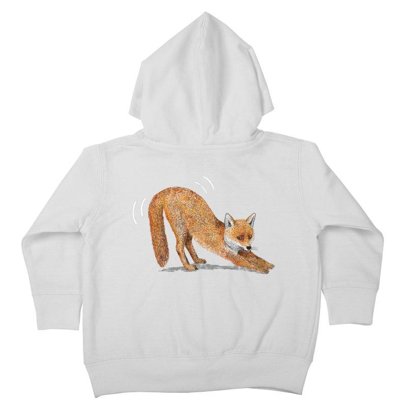 Foxy Fox Kids Toddler Zip-Up Hoody by Martina Scott's Shop