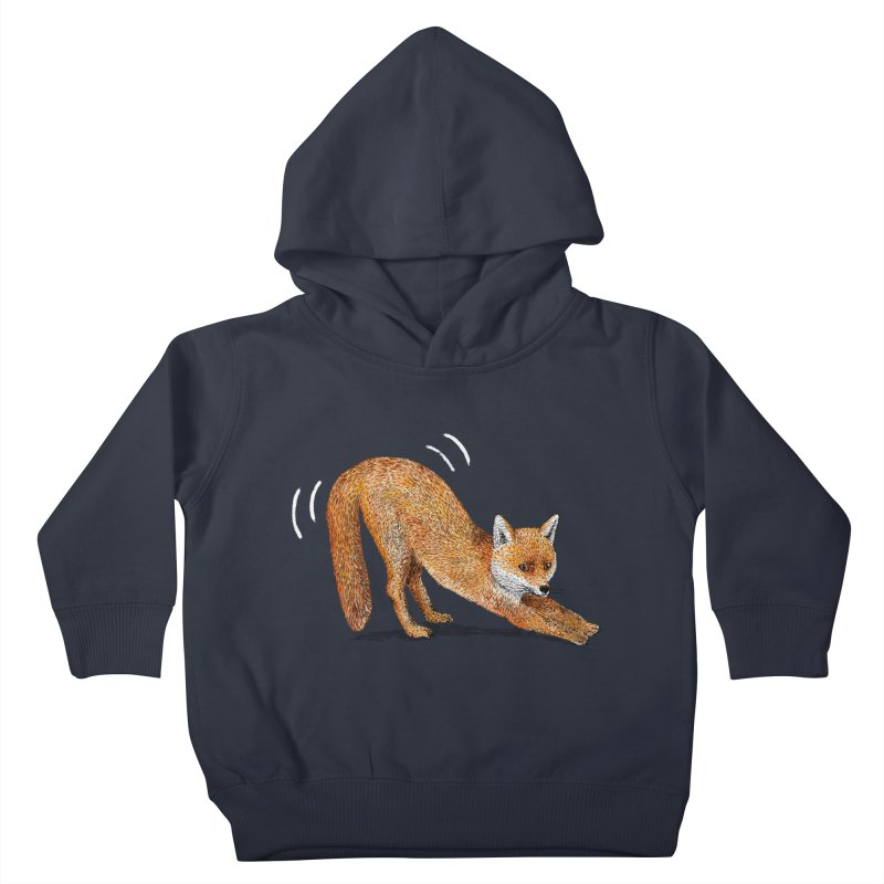 Foxy Fox Kids Toddler Pullover Hoody by Martina Scott's Shop