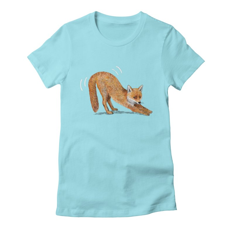 Foxy Fox Women's Fitted T-Shirt by Martina Scott's Shop