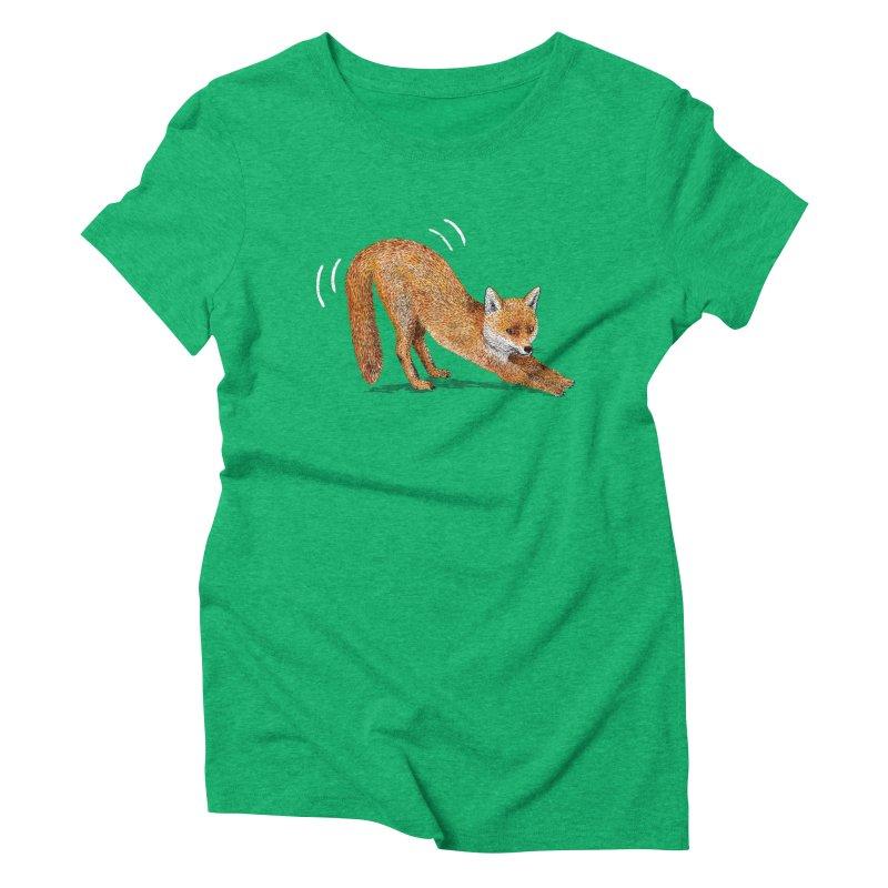 Foxy Fox Women's Triblend T-Shirt by Martina Scott's Shop