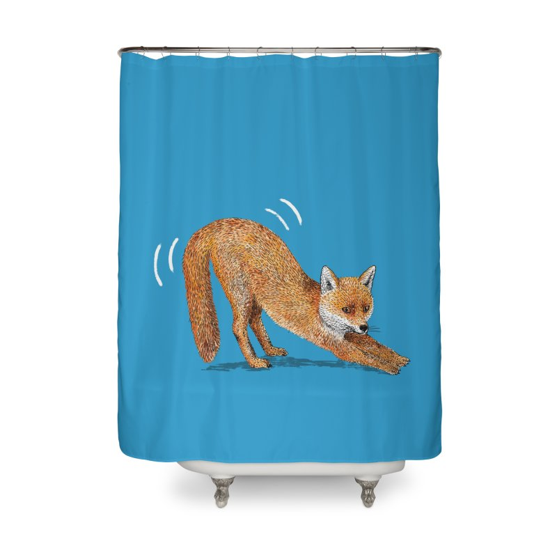 Foxy Fox Home Shower Curtain by Martina Scott's Shop