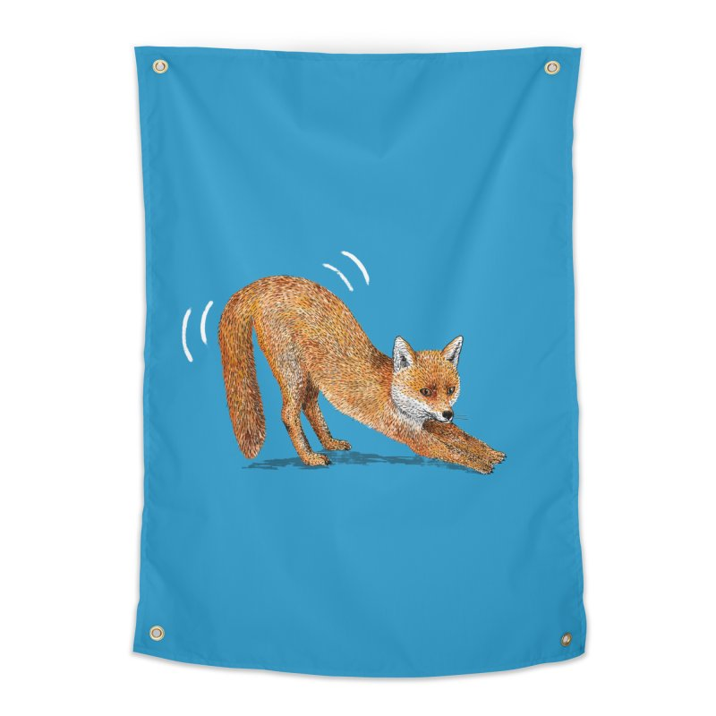 Foxy Fox Home Tapestry by Martina Scott's Shop