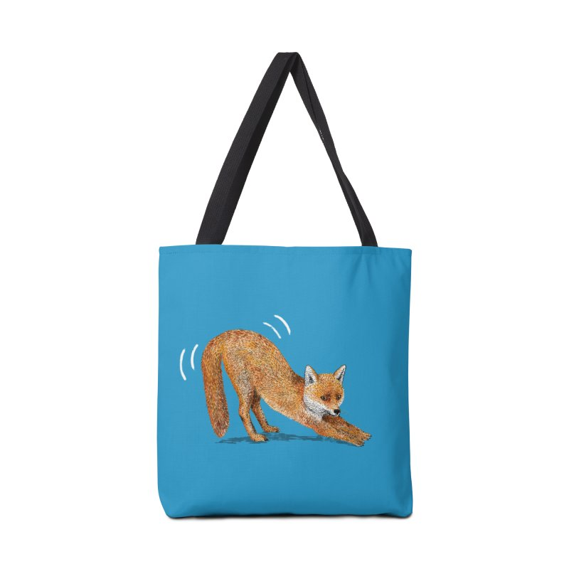 Foxy Fox Accessories Bag by Martina Scott's Shop