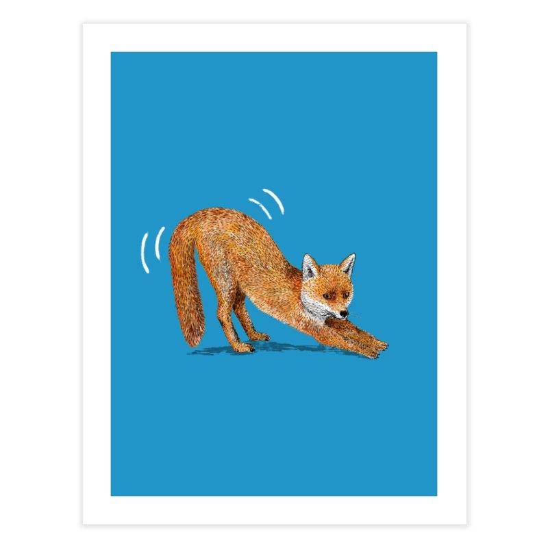 Foxy Fox Home Fine Art Print by Martina Scott's Shop
