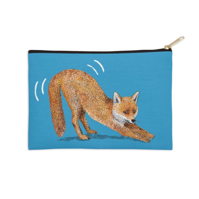 Foxy Fox Accessories Zip Pouch by Martina Scott's Shop